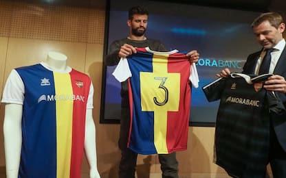 """Piqué: """"Porterò il mio Andorra in Champions"""""""