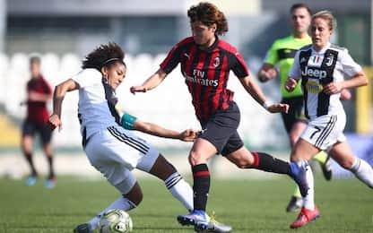 Coppa Italia donne, Juve-Milan LIVE su Sky Sport
