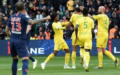 Psg, altro ko: vince il Nantes, festa rimandata