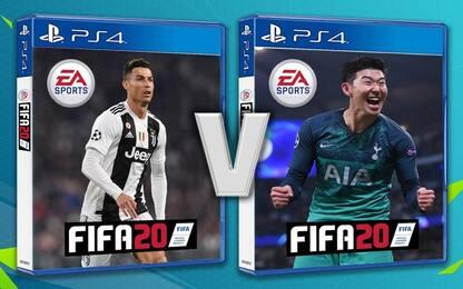 Son 'batte' CR7: lui in copertina a FIFA 20?