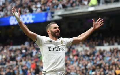 Tris Benzema: 3-0 Real all'Athletic Bilbao