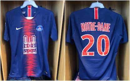 PSG, maglia speciale per Notre-Dame