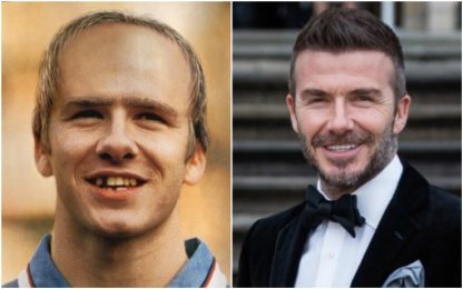 David Beckham nel 2020: la foto diventa virale