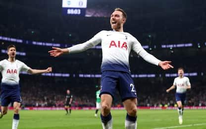 Tottenham, scatto Champions. Saints, pari beffa