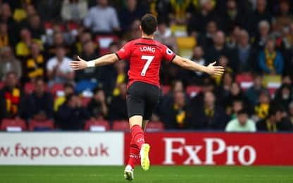 Long, gol dopo 7'': il più veloce della Premier