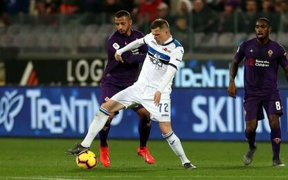 Atalanta-Fiorentina, le probabili formazioni