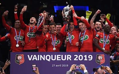 Flop PSG, ko ai rigori: Coppa di Francia al Rennes