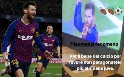 """Balotelli esalta Messi: """"Non paragonatelo a CR7"""""""