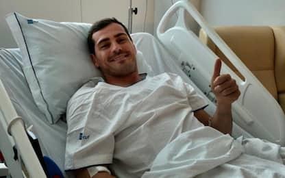 """Infarto per Casillas: """"Uno spavento, ora sto bene"""""""