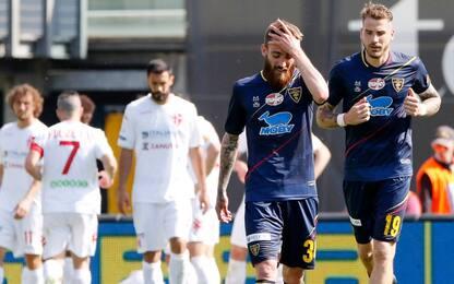 Tonfo del Lecce a Padova, scatto playoff Cremonese
