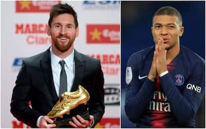 "Mbappé, 3 turni di stop: Messi ""vede"" Scarpa d'Oro"