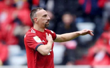 """Bayern, addio a Ribery: """"Non rinnoverà contratto"""""""