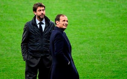 Juventus: i temi dell'incontro Agnelli-Allegri