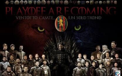 Potenza, playoff nel segno di Game of Thrones