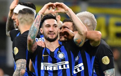 L'Inter non sbaglia: 2-0 al Chievo e 3° posto