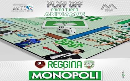 Monopoli, contro la Reggina è un gioco da tavola