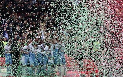 Festa Lazio: le FOTO del trionfo in Coppa Italia