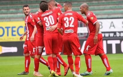 Playoff C, secondo turno: avanti Catania e Monza
