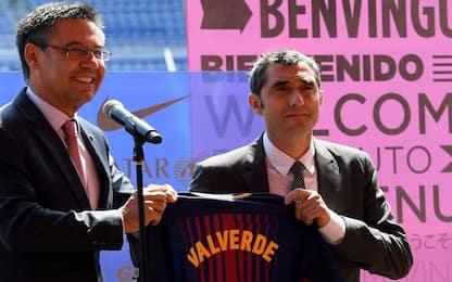 """Presidente Barcellona: """"Avanti con Valverde"""""""