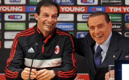 """Berlusconi a Sky TG24: """"Allegri-Monza? Non credo"""""""