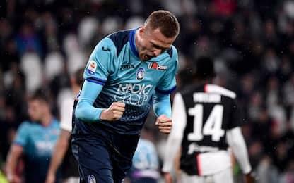 Juve-Atalanta 1-1, Dea al 3° posto