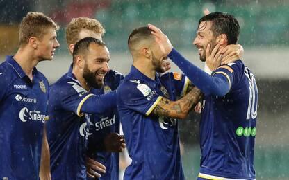 Verona in semifinale playoff: 4-1 al Perugia