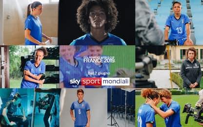 Mondiale donne, il nuovo promo di Sky Sport