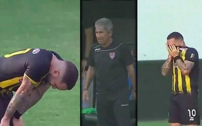 Maldonado-gol: elimina il papà dalla corsa playoff