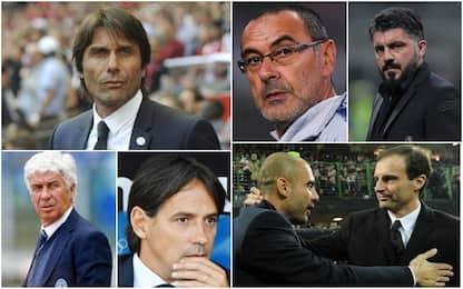 Serie A, il mercato delle panchine: tutti i nomi
