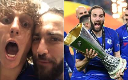 Higuain, pace fatta con Luiz. E che pazza stagione