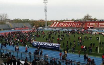 Rimini vince 2-0 e resta in C: Virtus Verona in D