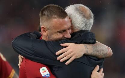 """Roma, Pallotta: """"Grazie Ranieri e De Rossi"""""""