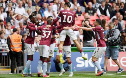 L'Aston Villa torna in Premier, Lampard ko