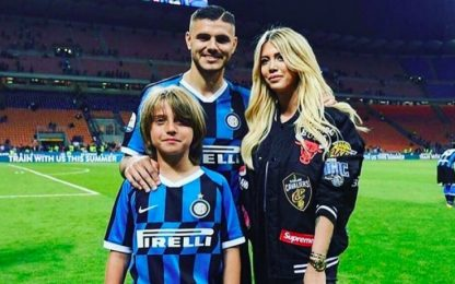 "Wanda: ""Icardi vuole restare all'Inter"""