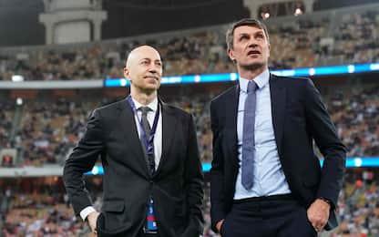 """Gazidis: """"Vorrei Maldini dt, no ai top player"""""""