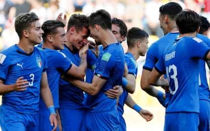 Italia U20 ai quarti con Pinamonti: Polonia ko 1-0