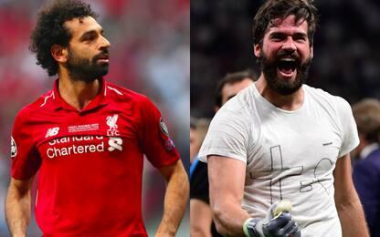 Salah-Alisson, sorride la Roma: 4.5 mln dai bonus