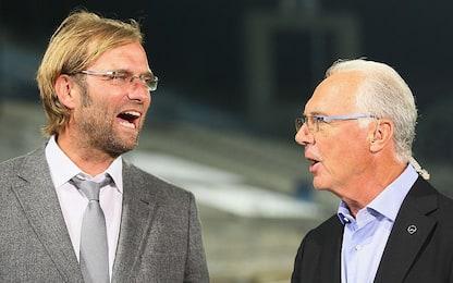 """Beckenbauer su Klopp: """"Lo vorrei al Bayern Monaco"""""""