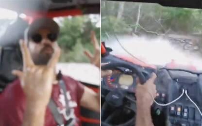 Diego Costa, altra follia: rally in vacanza! VIDEO