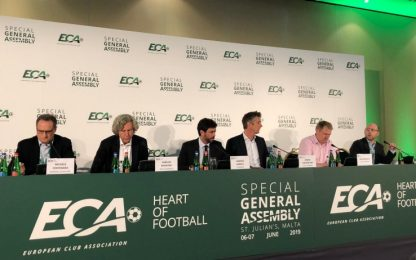 """ECA, Agnelli: """"Club ora sono meno scettici"""""""