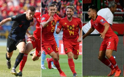 Under affonda la Francia, Mertens e Perisic in gol