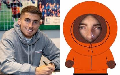 Schalke, preso Kenny: annuncio in stile South Park