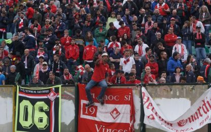 Serie C, Piacenza-Trapani 0-0. Retrocede Bisceglie