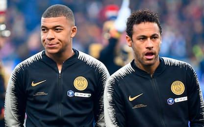 PSG, Neymar non si svende. E Mbappé è incedibile