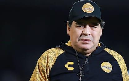 Maradona lascia i Dorados: dovrà operarsi