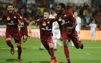 Trapani in Serie B: 2-0 al Piacenza