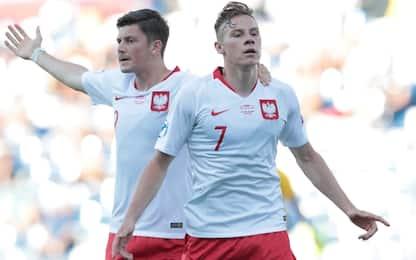 Sorpresa Polonia: Belgio battuto 3-2