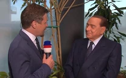 """Berlusconi: """"Con Li ho sbagliato. Vedrò Giampaolo"""""""