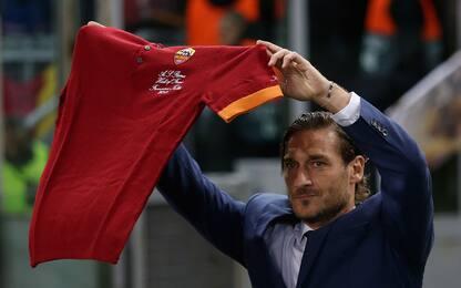 Totti e la sua Roma: la carriera in immagini