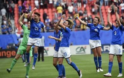 Italia-Brasile, quote e pronostici dei Mondiali di calcio femminile